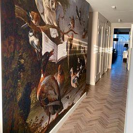 Photo de nos clients: Vogelconcert, Melchior d'Hondecoeter sur Meesterlijcke Meesters