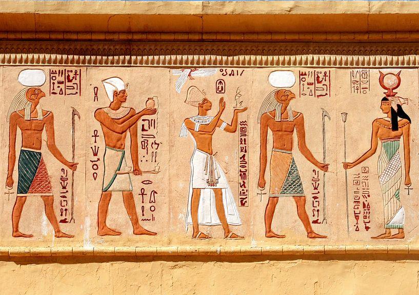 Egyptische symbolen van Gert-Jan Siesling
