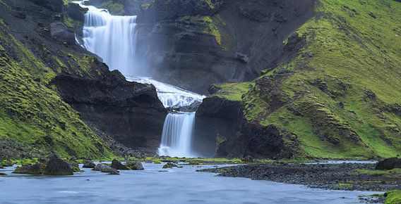 Ofaerufoss waterval