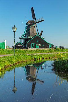 Windmühle im Frühling, Nordholland, Niederlande von Markus Lange