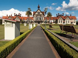Badhuis van Rotorua, Nieuw-Zeeland van