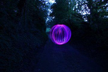 Lightpainting von Nicole Wetzels