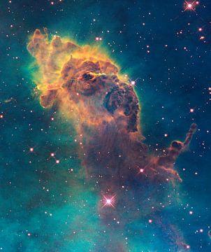 NASA Hubble ruimtetelescoop foto van de ruimte van Brian Morgan