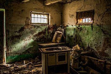 oude keuken van Frans Scherpenisse