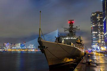 Marineschip HMS Kent in Rotterdam van Rob Altena