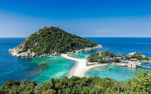 Koh Tao eiland Thailand van Remy de Klein