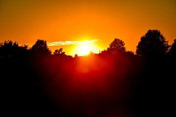 Sonnenuntergang von Kristof Leffelaer
