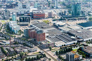 De Jaarbeurszijde van de binnenstad in Utrecht von De Utrechtse Internet Courant (DUIC)