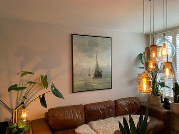 Kundenfoto: Ruhige See, Hendrik Willem Mesdag