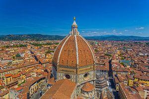 Florence, Italië - Uitzicht over de stad - 2