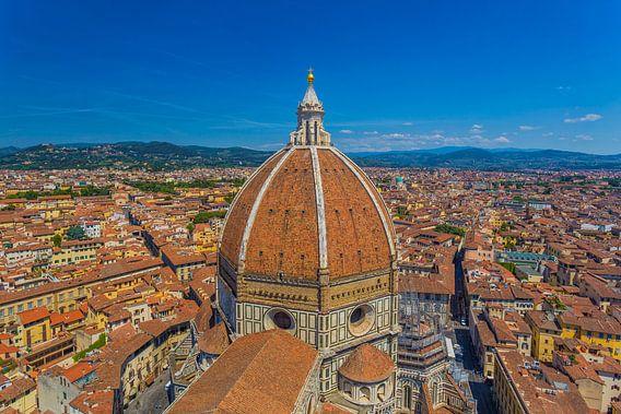 Florence, Italië - Uitzicht over de stad - 2 van Tux Photography