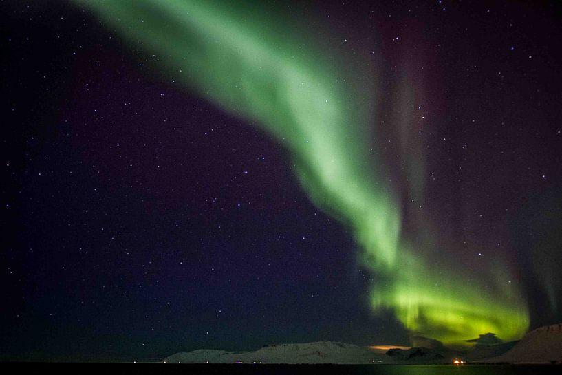 Noorderlicht 2 van Lilian Heijmans