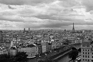 Stadsgezicht Parijs van
