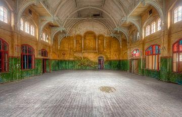 Turnhalle Beelitz von Roman Robroek