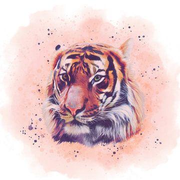 The Tiger No. 2 von Angela Dölling