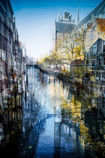 Pottenkade - Dordrecht van Mark Isarin