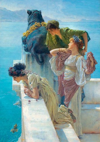 Lawrence Alma-Tadema. A Coign of Vantage