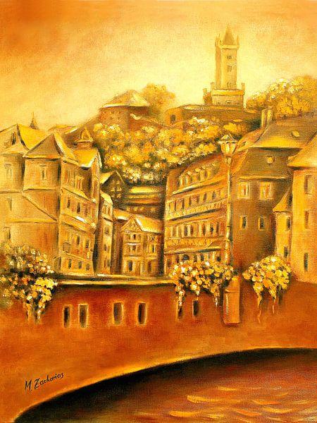 Dillenburg historische Altstadt von Marita Zacharias