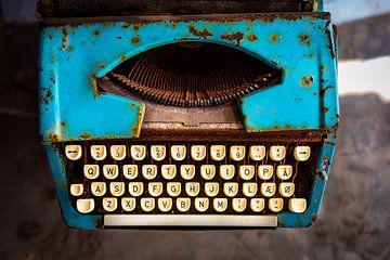 Typemachine van Sylvia Fransen