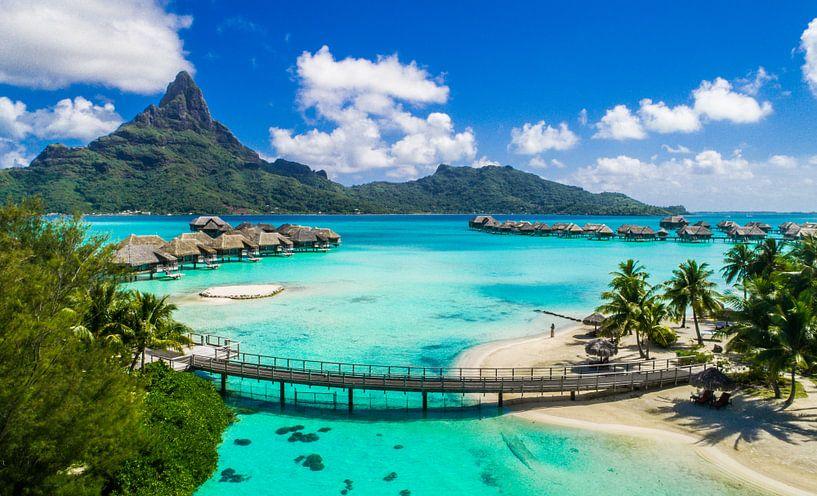 Bora Bora Lagoon van Ralf van de Veerdonk