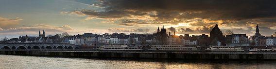 Panorama Maastricht Sint-Servaas tot Stadhuis