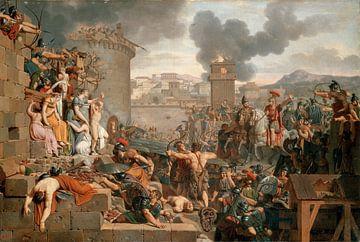Metellus erhebt die Belagerung, Armand-Charles Caraffe.