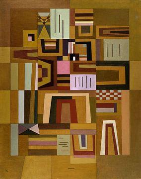 Ausgleichrosa (Roze Compensatie), Wassily Kandinsky