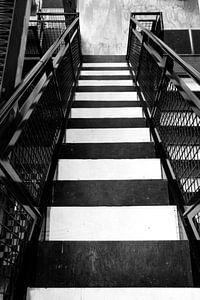 escaliers à Strijp-S Eindhoven