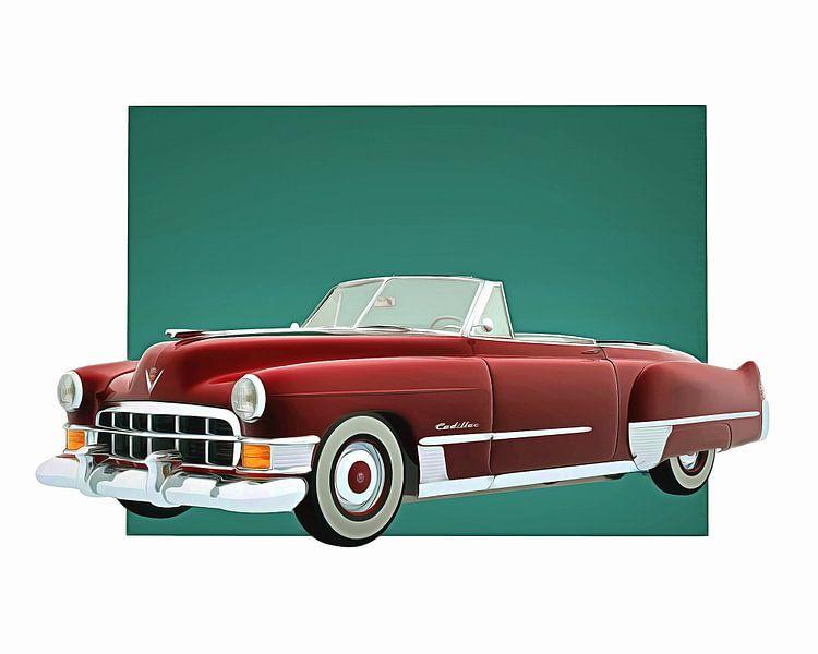 Klassieke auto – Oldtimer Cadillac Deville Convertible van Jan Keteleer