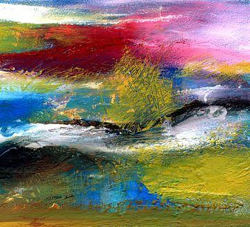 Schemering van het licht 1 van Claudia Gründler