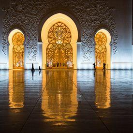 Sheikh Zayed-Moschee, Abu Dhabi von Inge van den Brande