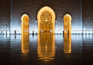 Sheik Zayed moskee, Abu Dhabi van