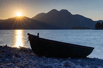Sonnenuntergang am Walchensee :-)