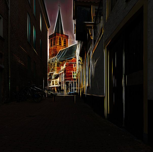 Amersfoort -1 van Dick Jeukens