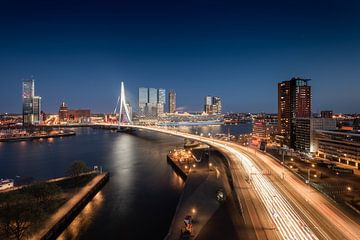 Rotterdam Rush Hour von Niels Dam
