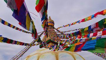 Bodnath Stupa van Timon Schneider