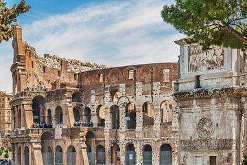 Colosseum Rome, Italy sur Gunter Kirsch