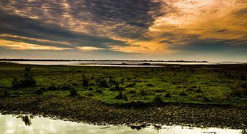 Gorzen at sunset van Arjan van Roon