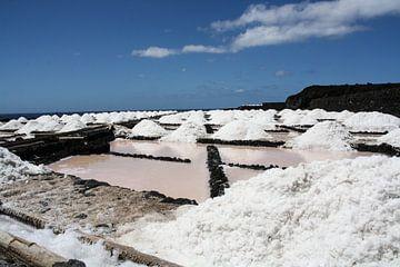 zout uit de zee gewonnen op la palma van Rick Van der bijl
