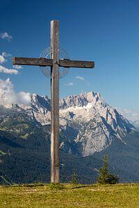 Holzkreuz am Wank von