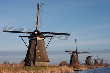 De molens van Kinderdijk van Stephan Spelde
