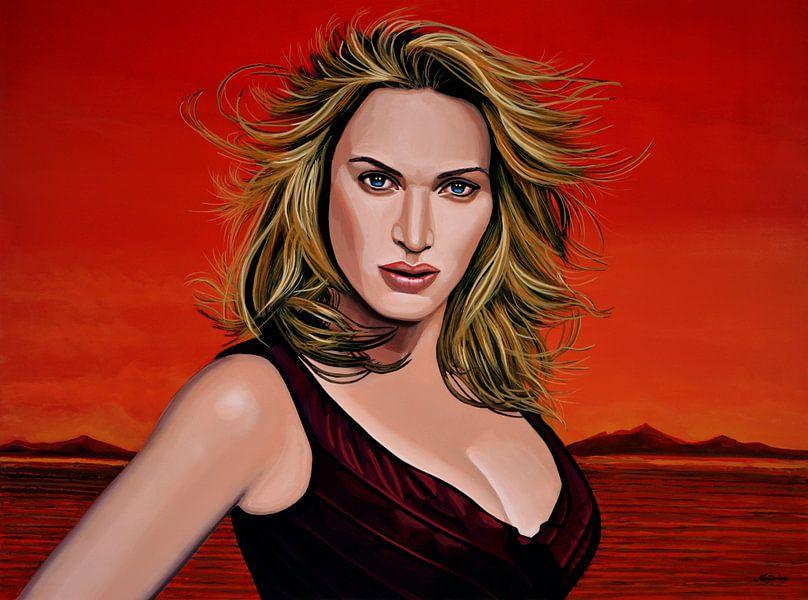 Kate Winslet Schilderij van Paul Meijering