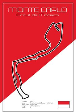 Racetrack Monte Carlo van Theodor Decker