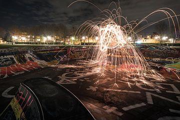 Lightpainting 2.0 van Alex van der Aa