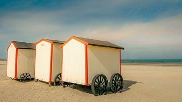 Aan het strand van Frans Nijland