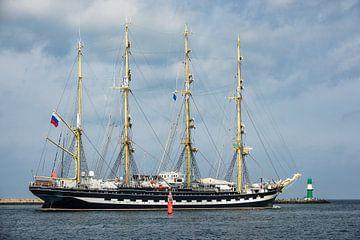 Segelschiff auf der Ostsee während der Hanse Sail von Rico Ködder