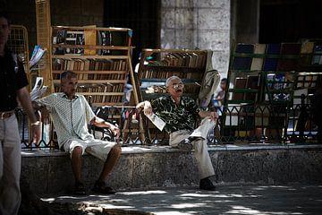 Kubanische Buchhändler von