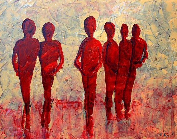 Menschen van Andrea Meyer