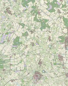 Kaart vanCoevorden