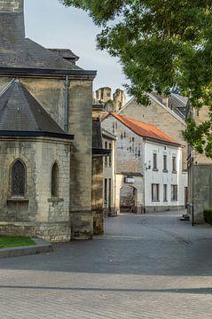Kerkstraat Valkenburg Zuidlimburg Nederland van